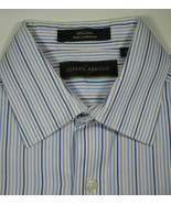 JOSEPH ABBOUD 16 Blue Gray White Stripe Boys Plaid Excellent Condition - $99.99