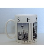 Starbucks Coffee 2003 Seattle Barista City Scenes Series Ceramic Large Mug - $6.90