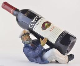 Wine Bottle Holder Boat Captain Bar Kitchen Hom... - $19.99