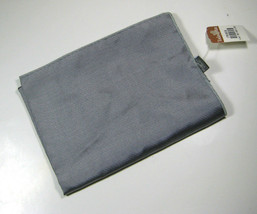 TODAY'S MAN Silver 100% Silk Italy Handkerchief  Pocket Square - $99.99