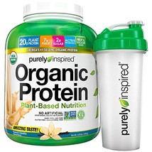 Purely Inspired Organic Protein Powder Plus Shaker Cup, French Vanilla, ... - $61.00