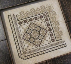Pretty Little Square 3 cross stitch chart T.A. Smith Designs  - $7.20