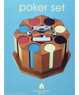 Architect Michael Graves exec game cherry Poker... - $37.36