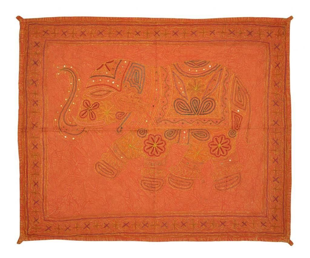 Indian Home D Cor Elephant Design Hanging Wall Tapestry Embroidery Zari Work Tapestries