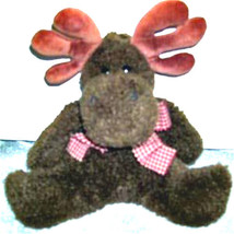 "Boyds Bears ""Windberg""  8"" Flattie Plush Moose- #5675-05  -NWT- Retired - $19.99"