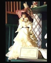 Doll Porcelain 22″ with Certificate of Authenticity AB 51 Vintage image 5