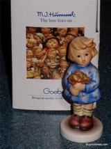 """Girl With Nosegay"" Goebel Hummel Figurine Christmas Gift With Original Box! - $28.12"