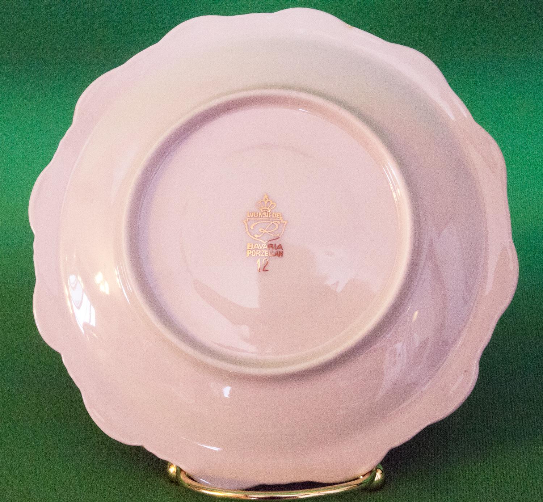 vintage wunsiedel bavarian porzellan saucer no cup gold design other tableware. Black Bedroom Furniture Sets. Home Design Ideas