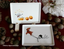 CRATE & BARREL (CB2) OLIVER APPETIZER PLATE –NWT- NOTE: OLIVER IS NOW RE... - $19.95