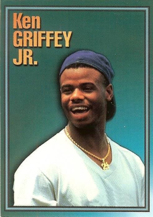 Primary image for 1993 ken griffey jr alrak baseball card seattle mariners scarce 1of 3