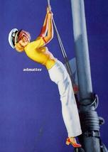 Earl Moran Pin-up Girl Poster Navy Sailor Climbing Mast  - $4.94