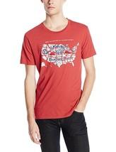 New Logo Lucky Brand Men's Budweiser America Graphic T-Shirt - $14.99+
