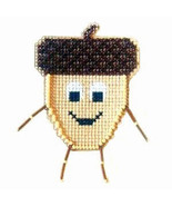 Acorn Buddy Kit  cross stitch kit Flowers 2 Flo... - $8.00