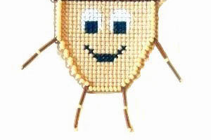 Acorn Buddy Kit  cross stitch kit Flowers 2 Flowers