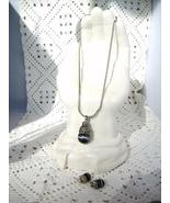 Cookie Lee Necklace & Earrings - Genuine Austrian Crystal #89037 & #8903... - $30.00