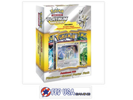 Pokemon Platinum Poster Pack Arceus Promo Card & Booster Packs Sealed TCG - $44.99