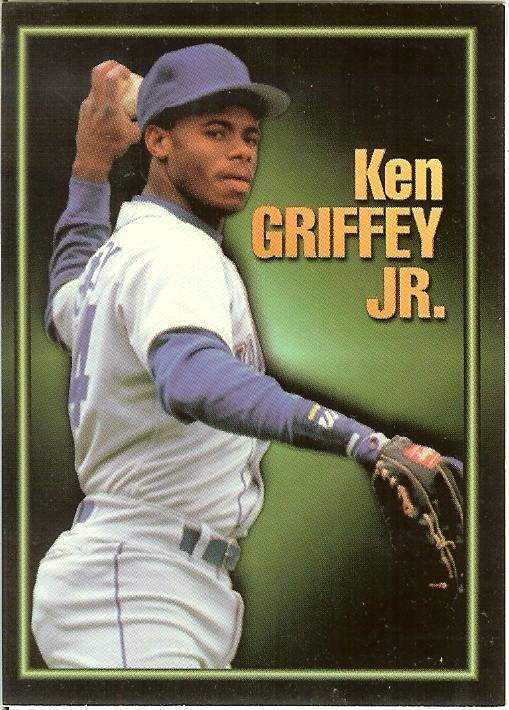 Primary image for 1993 ken griffey jr alrak baseball card seattle mariners scarce 3of 3
