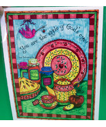 """Signed 8X11 Color Print By Pacific NW Artist Vana Arnold, """"Apple Of God'... - $7.95"""