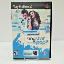 SingStar: Pop (Sony PlayStation 2, PS2, 2007)  - $9.50