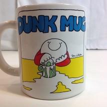 Donut Dunk Mug Tom Wilson Ziggy Stoneware Coffee Cup - $29.21