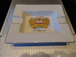 """H Upmann Cigar Ashtray - New in Box  measures approx 7.5"""" L x 6"""" W - $125.00"""