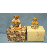 Cherished Teddies Delia & Mom Maker of Miracles - $8.95