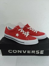 Converse One Star Ox Casual Shoes Converse Red Mens 9 Womens 11 - $44.70