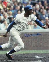 BILLY WILLIAMS Signed Chicago Cubs Swinging 16x20 Photo - SCHWARTZ - $88.11