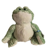 Webkinz Ganz Spotted Bull Frog Plush Green Fat Belly Stuffed Animal Soft W/ Code - $13.99