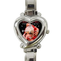 NEW Lady Gaga Custom Heart Italian Charm Watch - $15.00