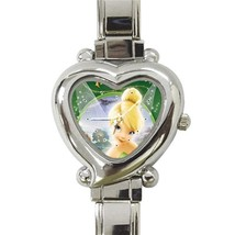 Tinkerbell Custom Heart Italian Charm Watch - $15.00