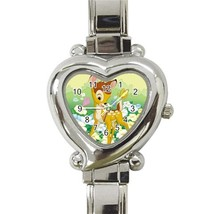 NEW Bambi Custom Heart Italian Charm Watch-02 - $15.00