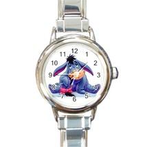 Eeyore Italian Charm Watch Round Wristwatch - $15.00