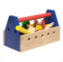 Toddlers Wooden Take-Along Tool Kit - $15.00