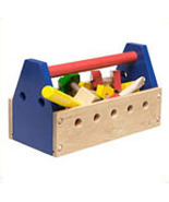 Toddlers Wooden Take-Along Tool Kit - $15.00