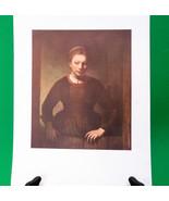 """Fine Art Prints - """"Young Girl At An Open Half-Door"""" By Rembrandt Van Rijn - $3.95"""