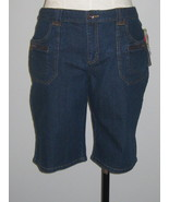Style & Co Ladies Denim Burmuda Shorts Size 14 - $21.00