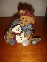 Boyds Bearstone Elliot & Snowbeary #2242 - $14.99