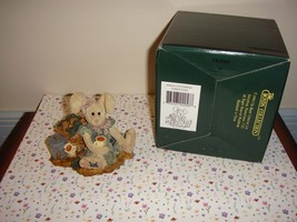 Boyds Bear Bearstone Amelia's Enterprise Carrot Juice Spring/Easter 22E/... - $11.89