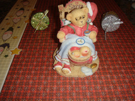 Cherished Teddies Santa A Little Holiday R & R, 352713, 1998, For Christ... - $13.59