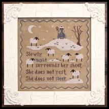 Jubilee's Sheep cross stitch chart Little House Needleworks - $7.20