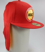 Houston Rockets New Era Dog Ear Size 7 1/8 NBA HWC Team 59FIFTY Cap Hat Red