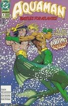 (CB-1} 1992 DC Comic Book: Aquaman #4 { vs Iquila } - $2.00