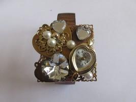 Costume Jewelry , Heart Watch , Eclectic , Unique , Vintage , Retro ,1970s , - $94.91