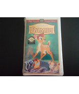 Disney's Bambi (VHS, 55th Anniversary, Limited Edition) - $7.43