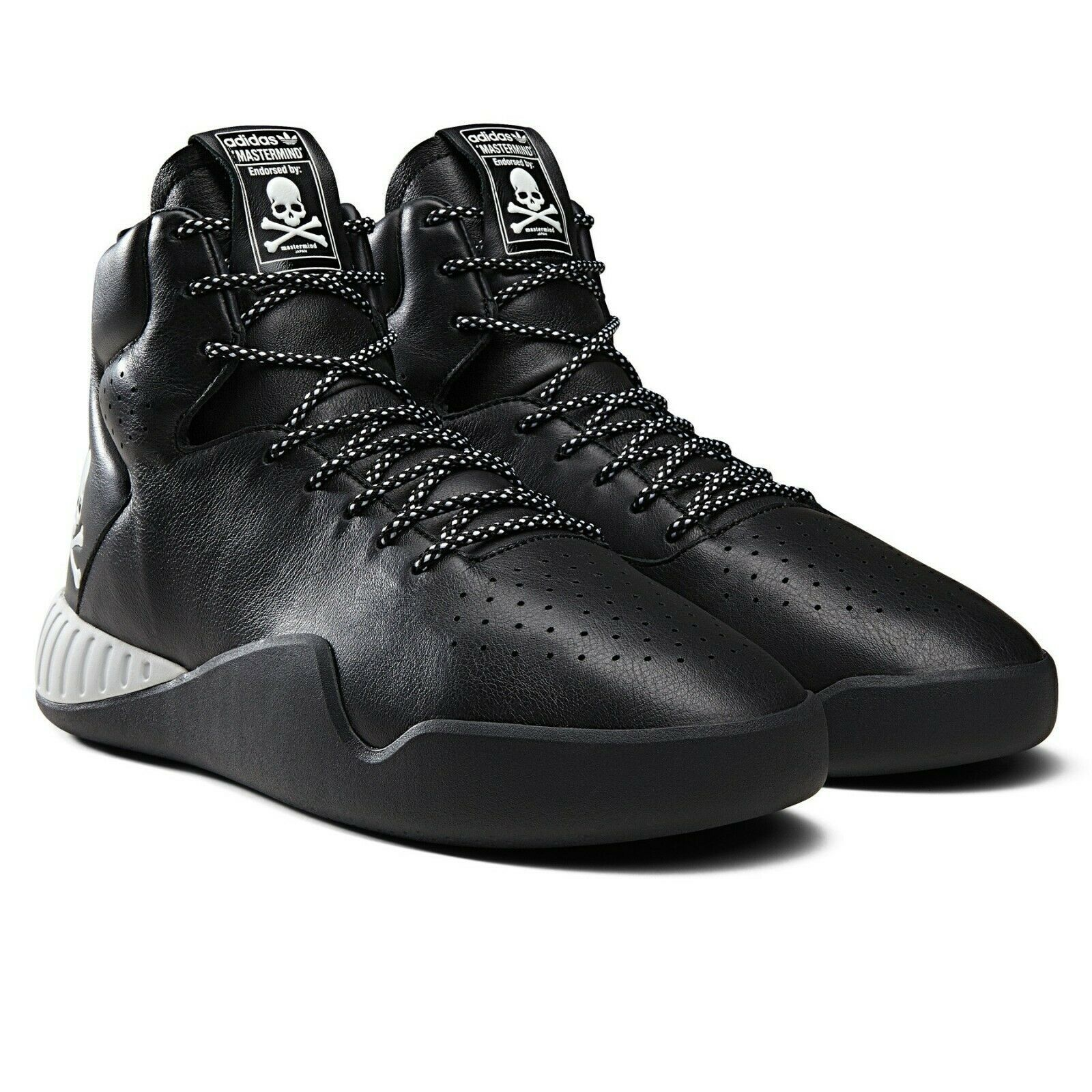 Adidas Mastermind Japan X Tubular Instinct BA9727 Black Mens Size 10.5 image 2