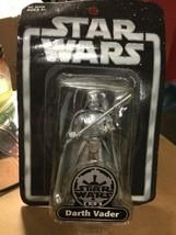 Star Wars Darth Vader Silver Series Action Figure 2004 Hasbro - $19.59
