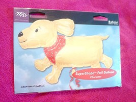CUTE DOG MYLAR - SUPERSHAPE FOIL BALLOON - 24 INCH X 39 INCHES - €7,14 EUR
