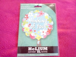 "PETITE SHAPE  12 INCH - FOIL BALLOON ""THINKING OF YOU""   ANAGRAM - €2,38 EUR"