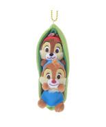 Disney Store Japan Chip & Dale Pea Key Chain Plush Doll Key Chain - $48.51